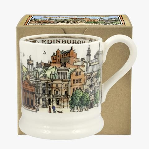 Edinburgh Half Pint Mug