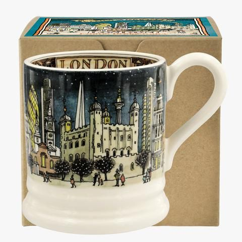 London at Night Half Pint Mug from Emma Bridgewater