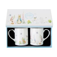 Beatrix Potter Classic Mugs, Set of 2