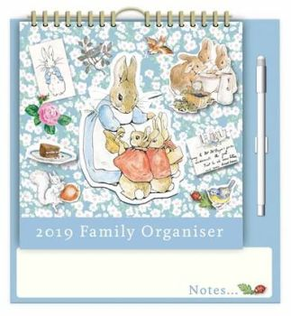 Peter Rabbit A3 Family Planner 2019