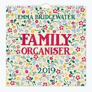 Spring Floral 2019 Family Organiser