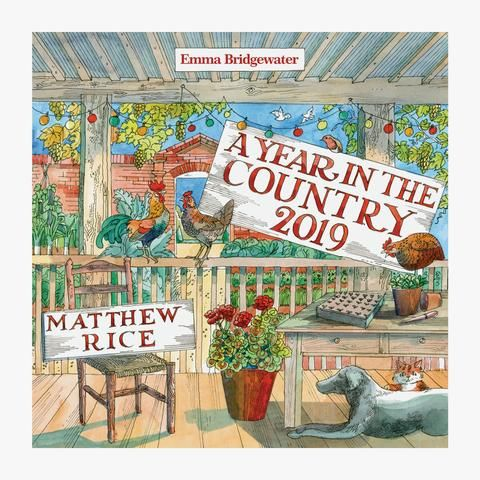 Year in the Country 2019 Calendar from Emma Bridgewater