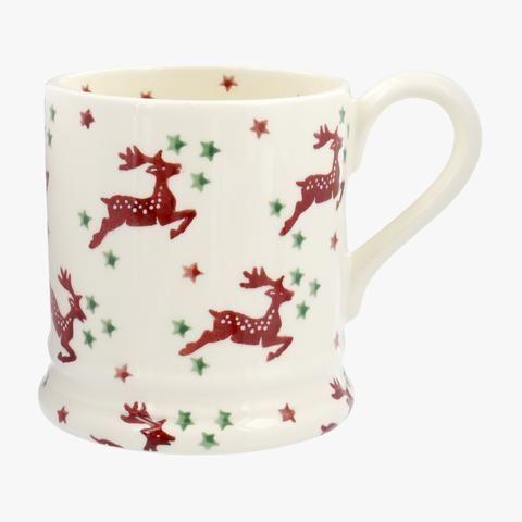 Reindeer Scatter 1/2 Pint Mug