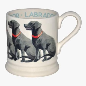 Black Labrador 1/2 Pint Mug from Emma Bridgewater