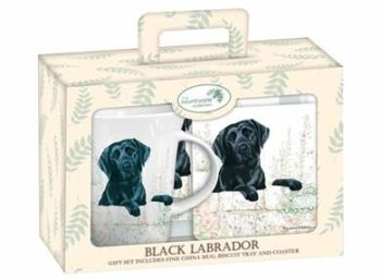 Black Labrador Tea Time Gift Set
