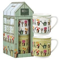 RHS 'At The Allotment' Stacking Mugs