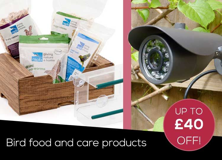RSPB Bird Food and Care Products
