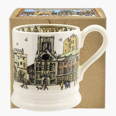 York 1/2 Pint Mug Boxed