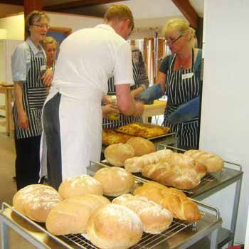In Derbyshire, Artisan Bread Making with Hartingtons of Bakewell from Into the Blue