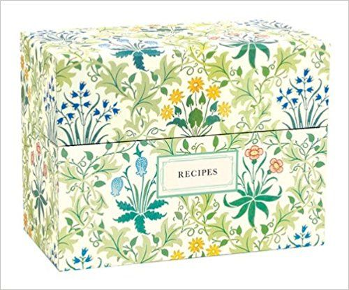 V&A William Morris Recipe Box  from Amazon