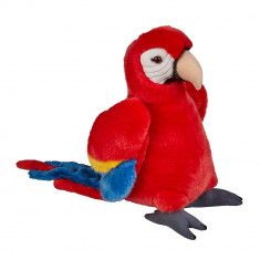 Scarlet Macaw Soft Toy from the Natural History Museum
