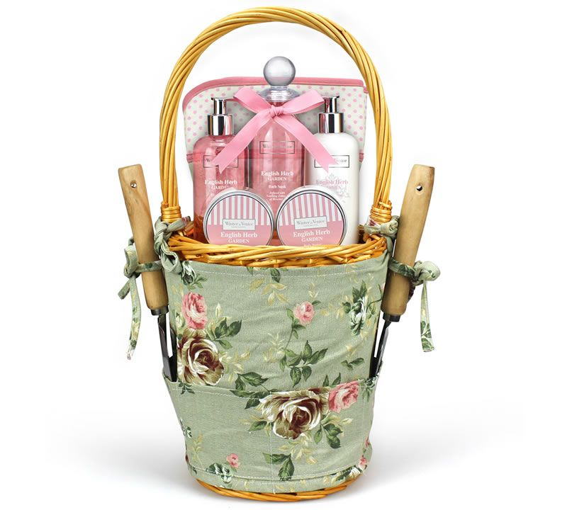 Rosemary Gardening Basket Pamper Hamper