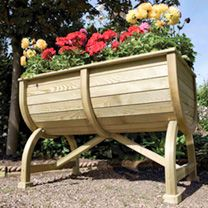 Marberry Barrel Planter