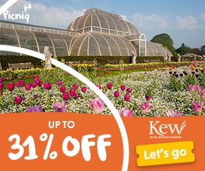 Up to 31% off tickets to Kew Gardens with Picniq.co.uk