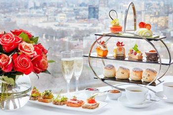 Chocoholic Afternoon Tea for Two at 5* The London Hilton Park Lane