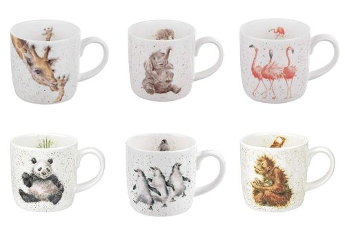 Or you can buy six Wrendale mugs!
