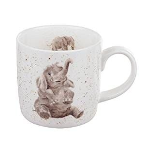 An elephant mug