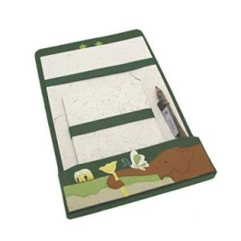 Eco Maximus Elephant Dung Writing Stationery Set