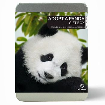 Adopt a Panda and support Pandas International save this endangered species