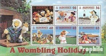 For Stamp Collectors who love Wombles!
