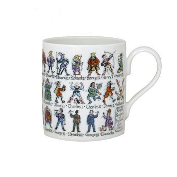 Kings and Queens Bone China Mug