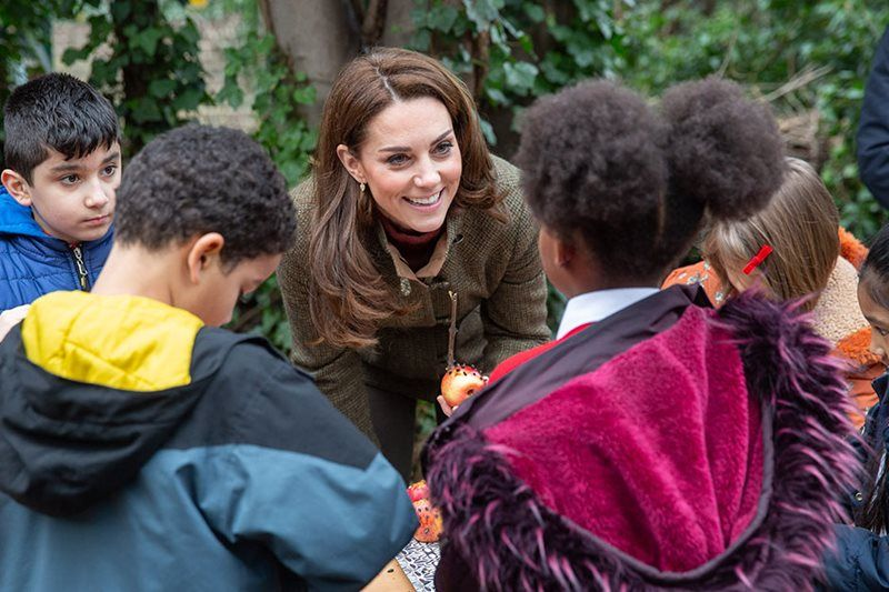 HRH The Duchess of Cambridge has designed a garden, working with two architects