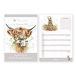 Wrendale A3 Family Calendar 2020 - The Country Set