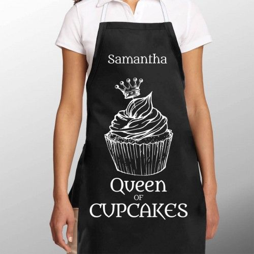 Or what about this Queen of Cupcakes Apron from Giftpup.co.uk?