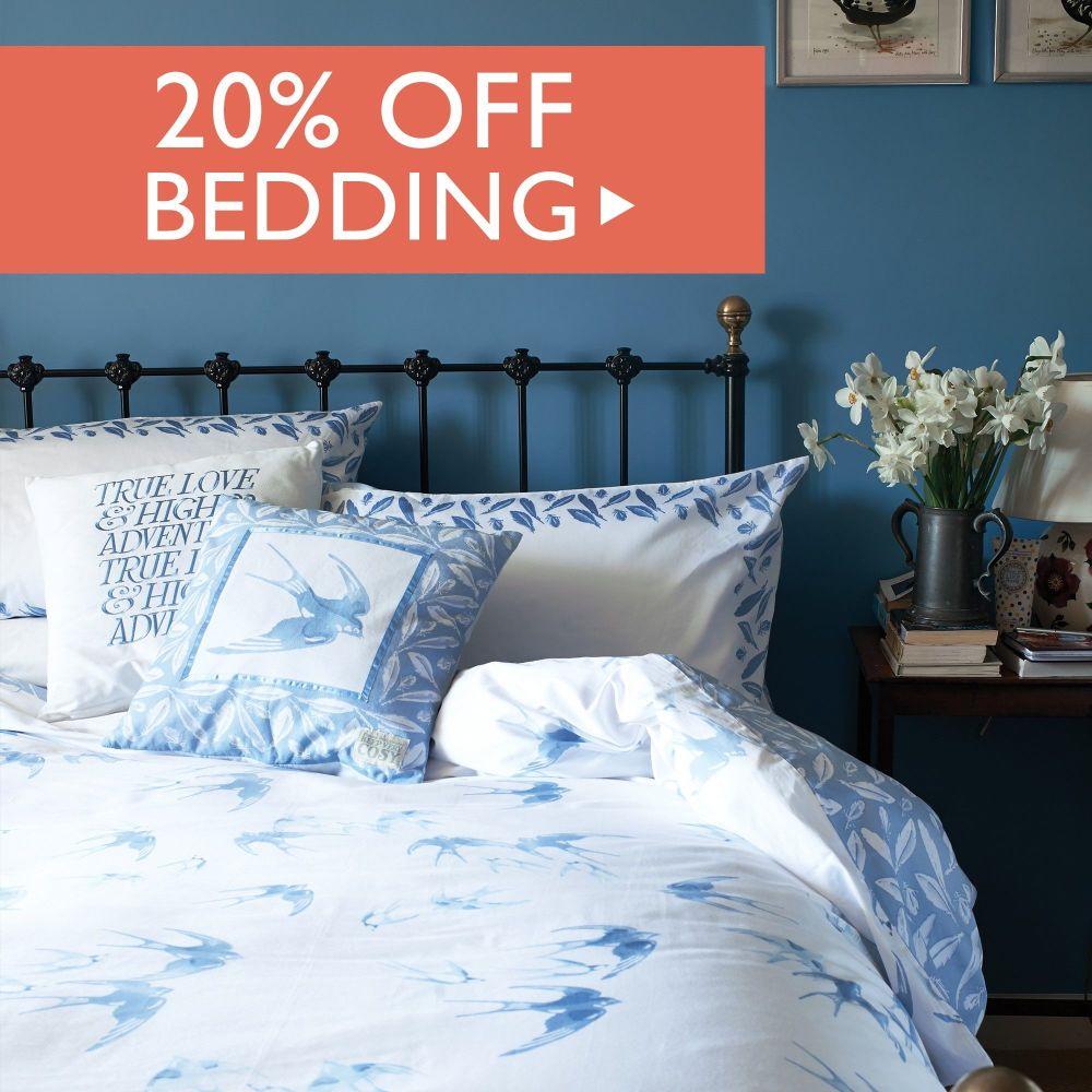 20% off Bedding