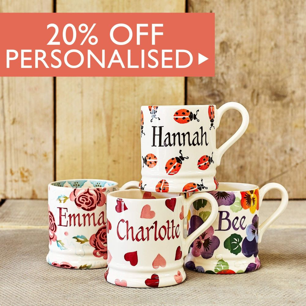 20% off Personalised