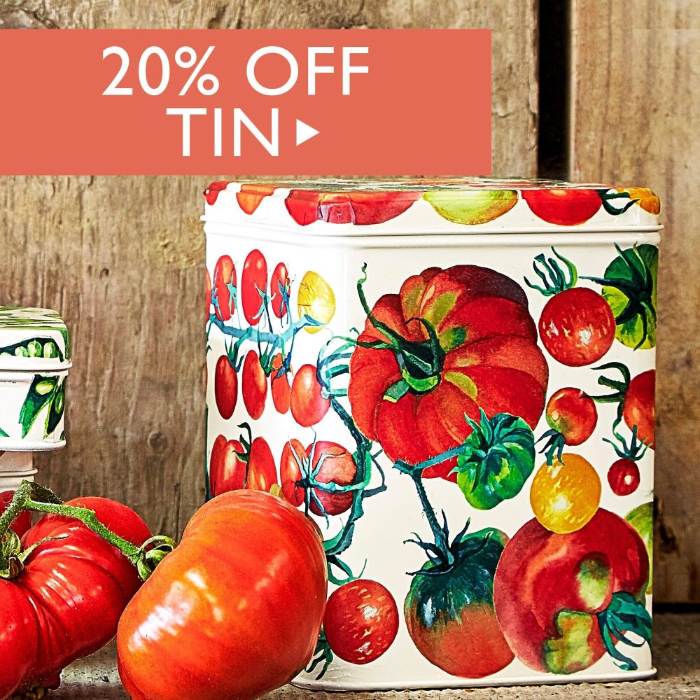 20% off Tin
