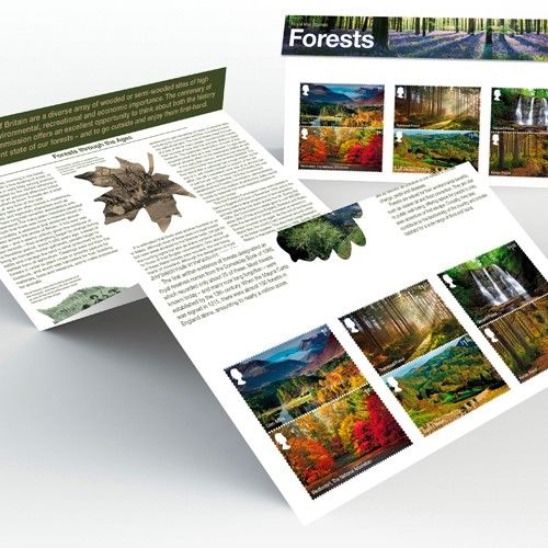 Take a look at the stamp collections from Forestry Commission