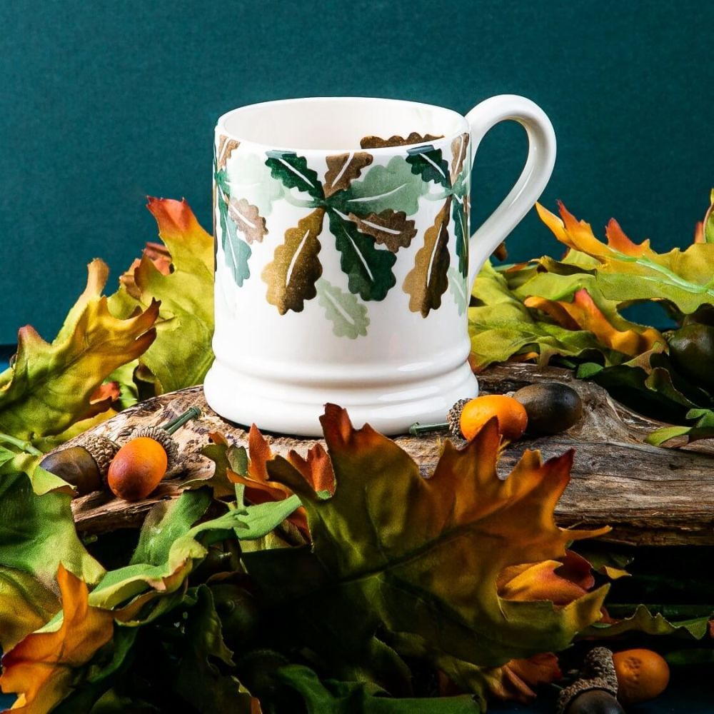 Give your support to Action Oak when you buy an Action Oak Half Pint Mug from Emma Bridgewater
