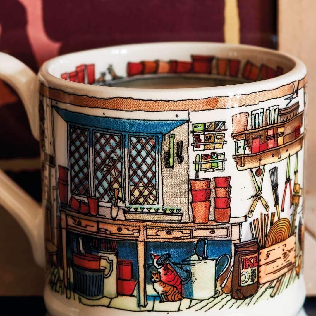 A Potting Shed Half Pint Mug from Emma Bridgewater
