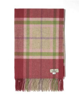 SPECIAL OFFER Flowers & Gardens Tartan Lambswool Stole