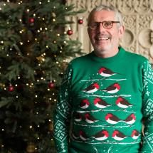 Robin Christmas jumper - RSPB exclusive