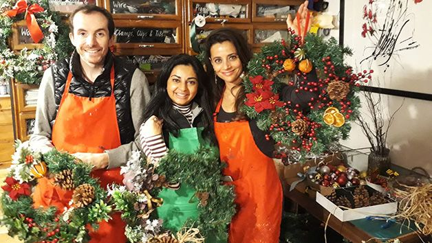 Make Your Own Christmas Wreaths at M.Y.O for Two