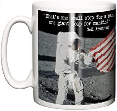 IIE, Moon Landing Neil Armstrong Quote Apollo 11 50th Anniversary, Ceramic Coffee or Tea Mug