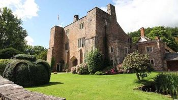 Bickleigh Castle Grounds and Garden Guided Tour and Cream Tea for Two