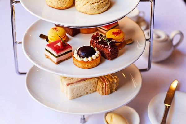 Afternoon Tea for Two at Amberley Castle with Garden Entry