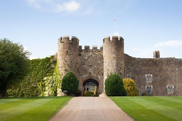 Take a visit to Amberley Castle and enjoy Afternoon Tea