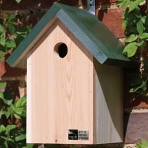 There are classic nest boxes such as this one