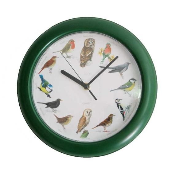 Tick, tock!  Tick, tock! The RSPB Birdsong Clock has authentic birdsongs!