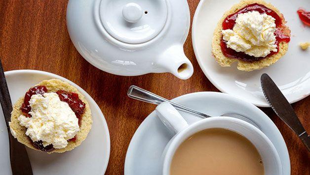 Tuck into a cream tea!