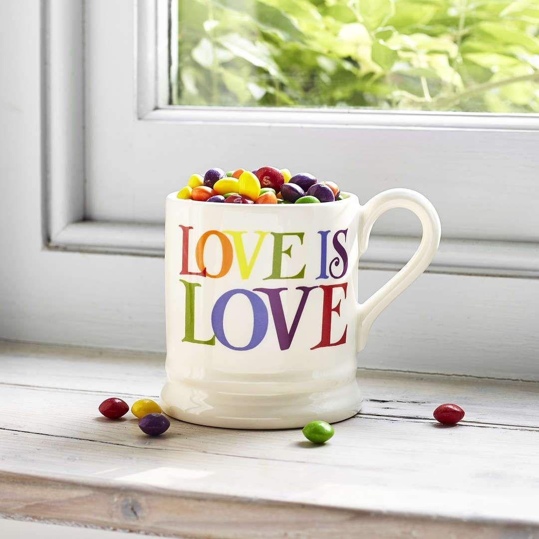 Love is Love Half Pint Mug