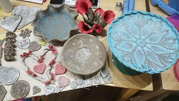 Pottery Workshop for One at Fired Art Designs in West Yorkshire