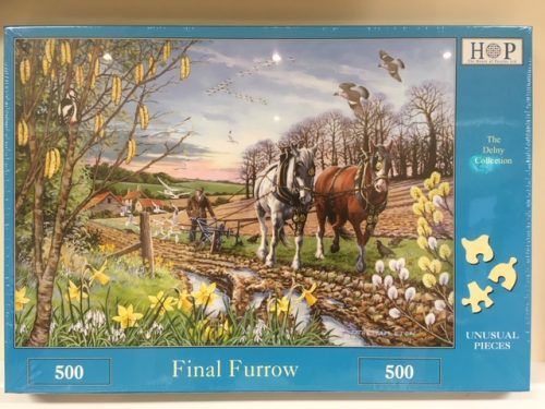 For horse lovers, how about a jigsaw from the Shire Horse Society?