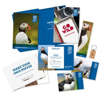Adopt a puffin from the Scottish Wildlife Trust