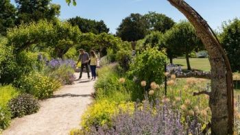 The National Trust has many lovely gardens to visit