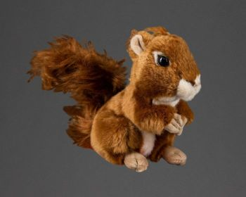 This squirrel soft toy is available from the National Trust for Scotland